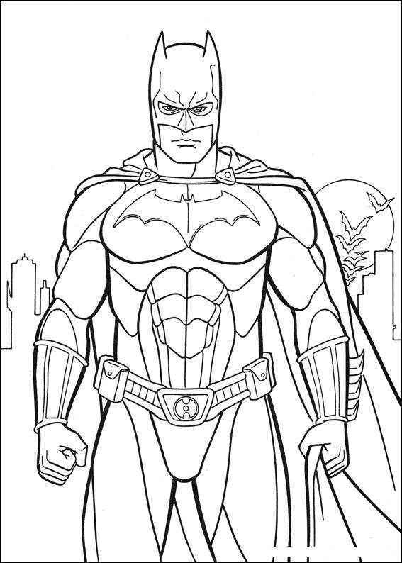 The Dark Knight Coloring Pages Children Coloring Coloring