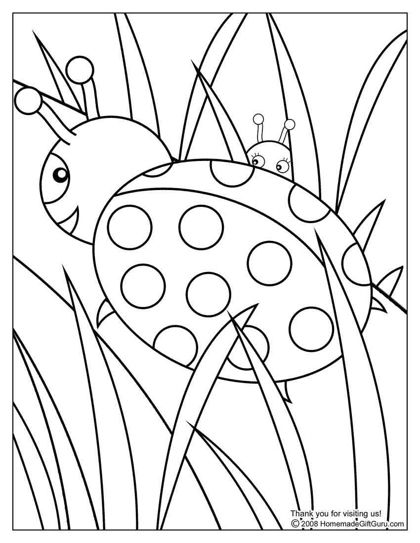ladybug coloring pages online