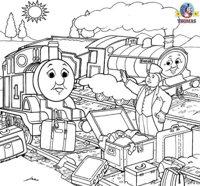 thomas the train happy birthday coloring pages christmats carrol