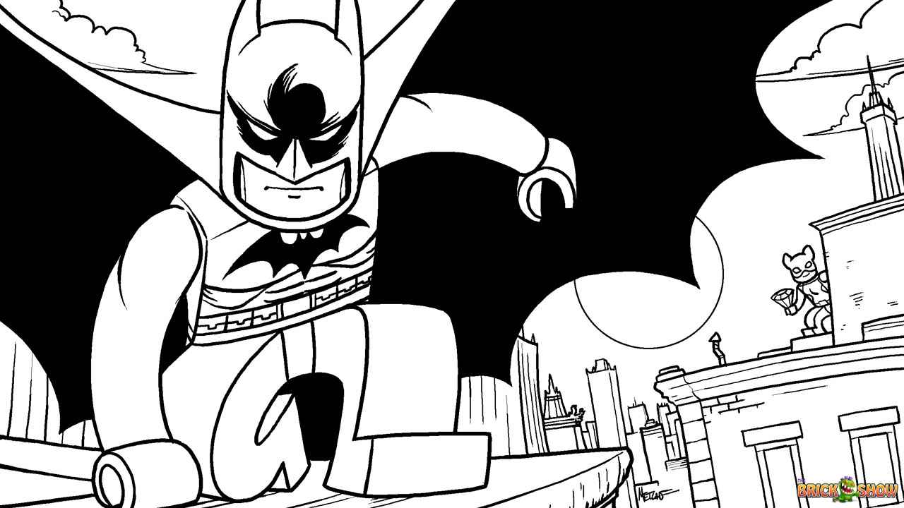 Lego Batman 2 Dc Super Heroes Coloring