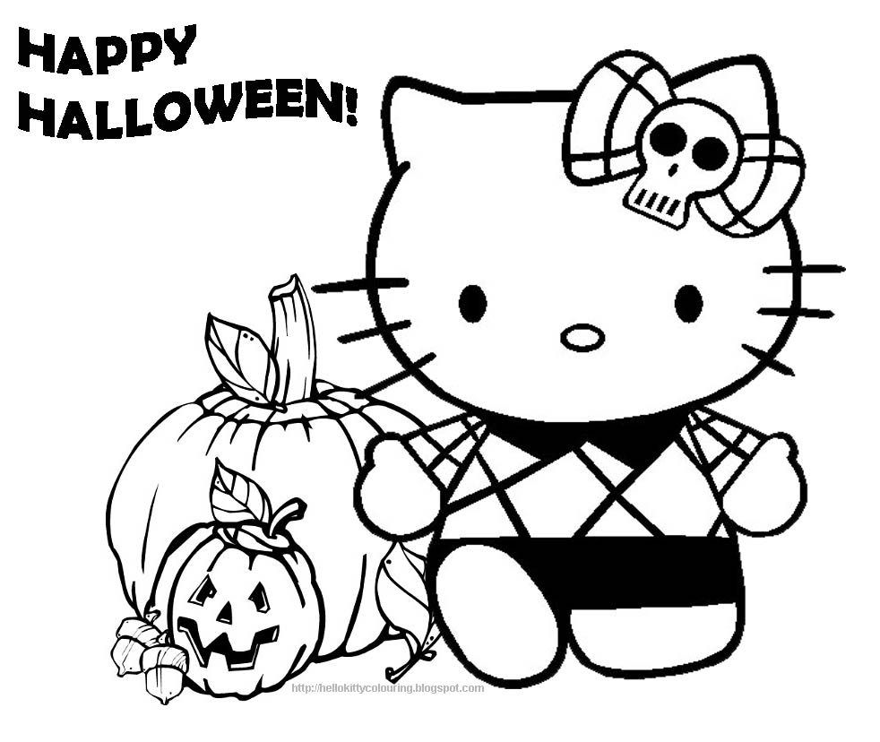Combined_Halloween_with_Hello_kitty_coloring_pages