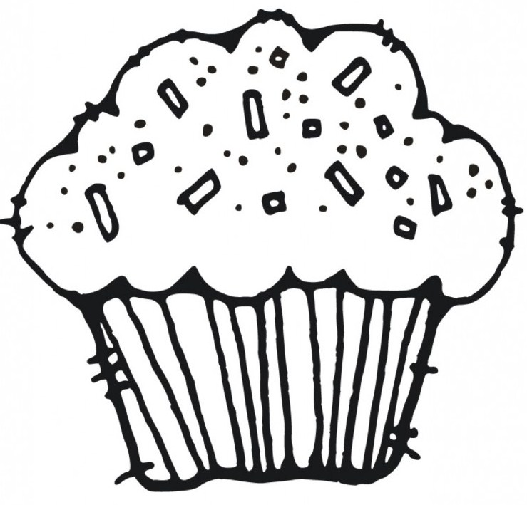Cupcake-Coloring-Pages-without-topping
