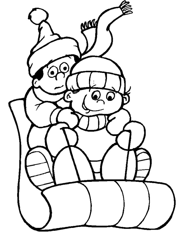 Winter Coloring Pages To Print Coloring Coloring Pages