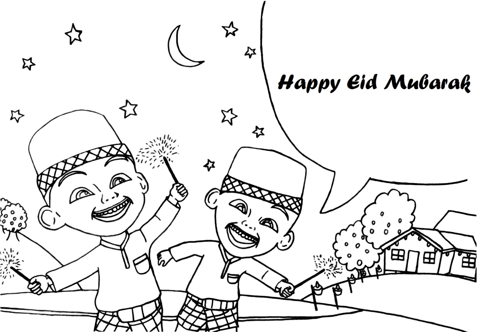 Printable Coloring Pages Eid Index Of Wp Content Uploads