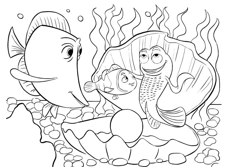 Finding-Nemo-Coloring-Pages