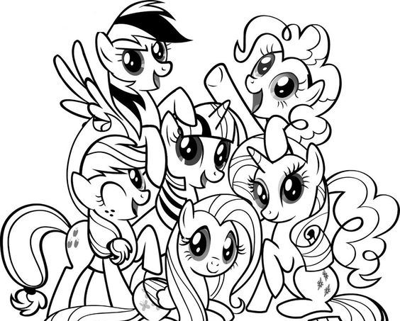 my-little-pony-coloring-pages