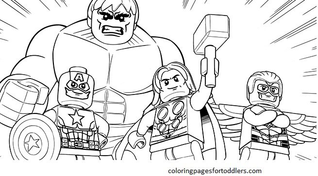 lego coloring pages for boys - Coloring Pages Lego Superheroes