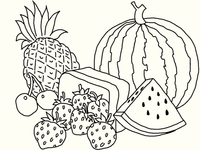 fruit-coloring-pages-watermellon-and-pineapple-08