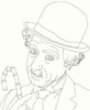 Iconic Charlie Chaplin Coloring Pages