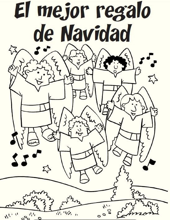 Feliz Navidad Coloring Pages Completed With S Christmas Reindeer Spanish