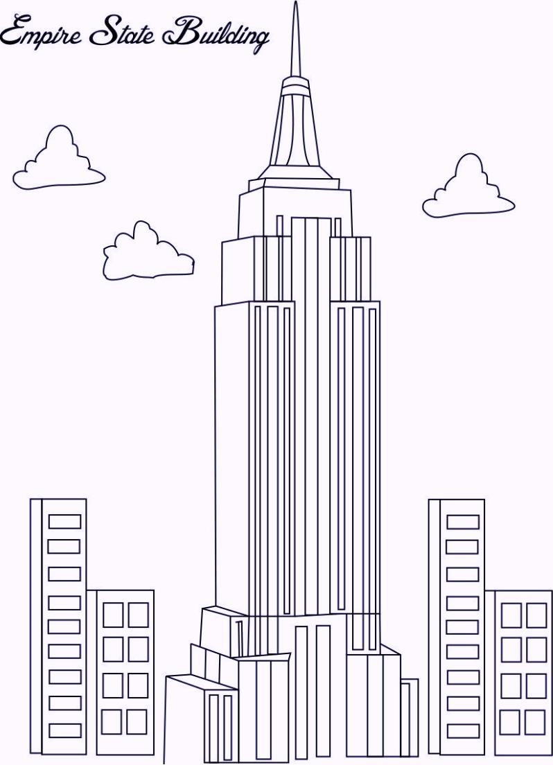 empire-state-building-in-new-york-coloring-pages