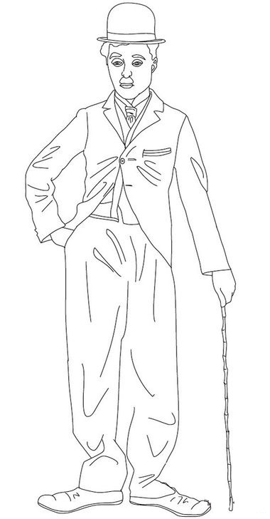 funny-charlie-chaplin-coloring