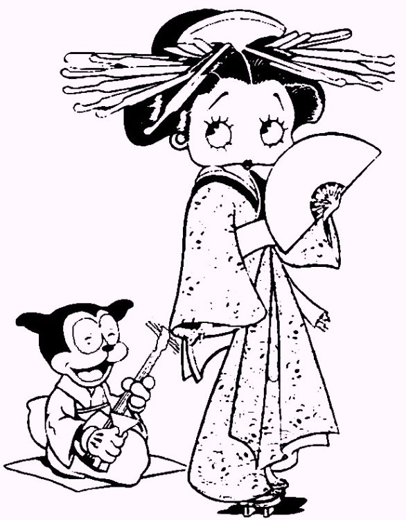 japanese-coloring-pages-themed