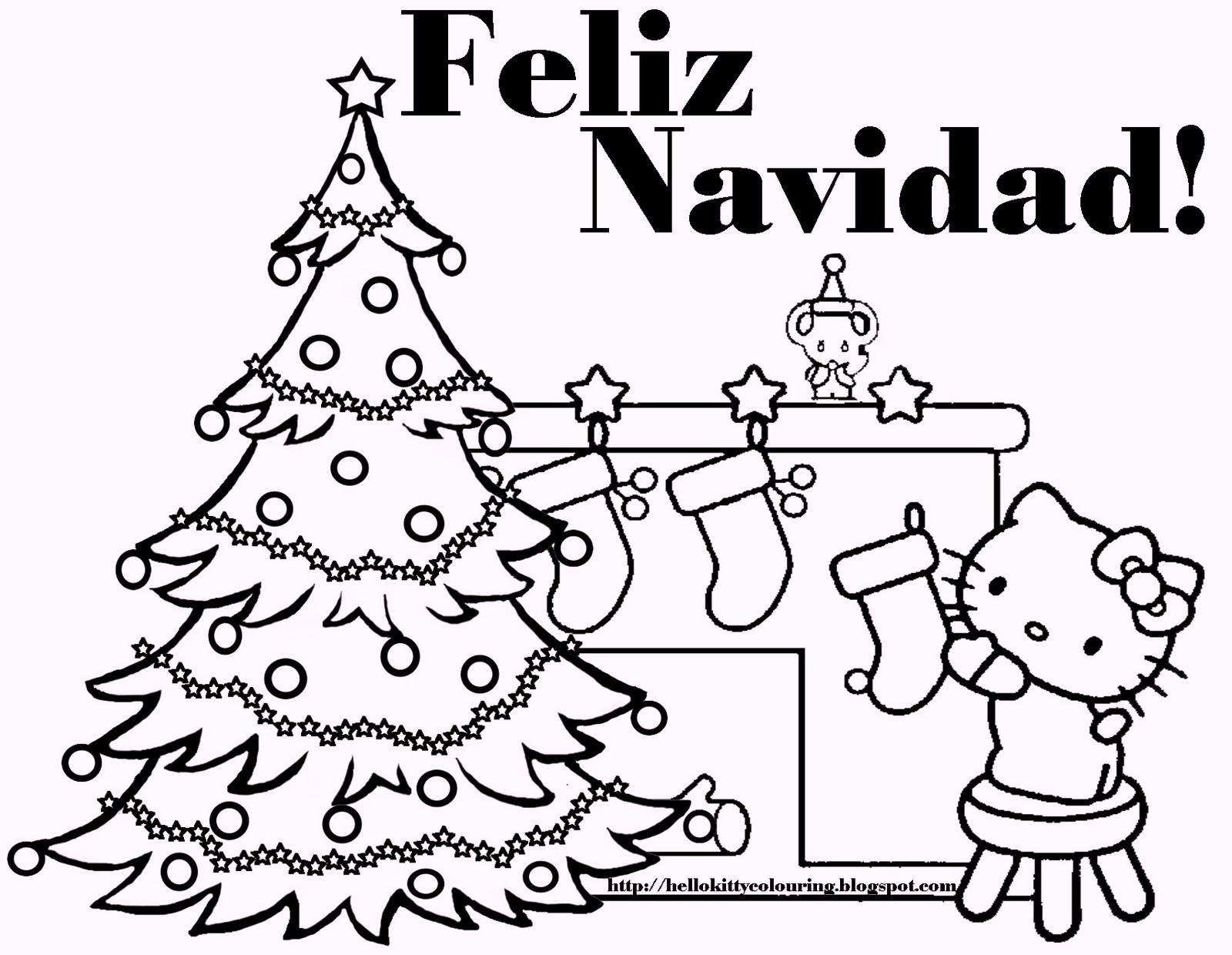 spanish-christmas-feliz-navidad-coloring-pages