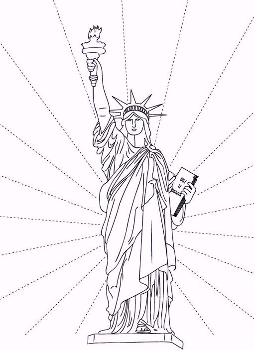 statue-of-liberty-coloring-sheets
