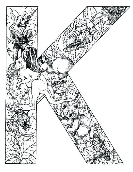 coloring_pages_animal_plant_abc_alphabet_K