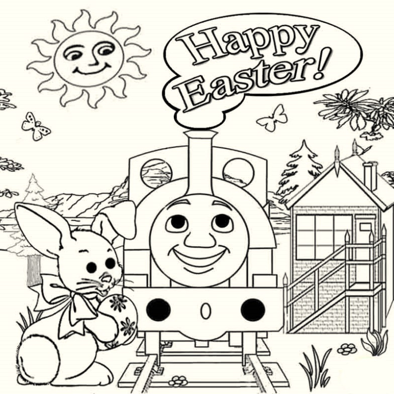 printable-thomas-the-train-easter-coloring-pages