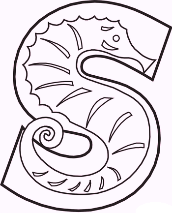 s-for-Seahorses-alphabet-coloring-pages