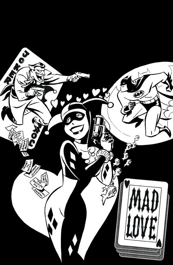 DC-Comics-The-Batman-Adventures-Mad-Love-Coloring-Pages
