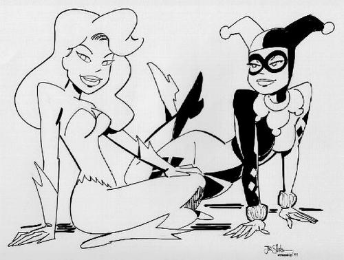 The-Batman-Adventures-Mad-Love-Coloring-page