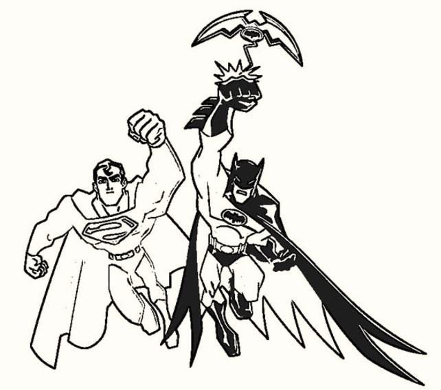 batman-vs-superman-coloring-sheets