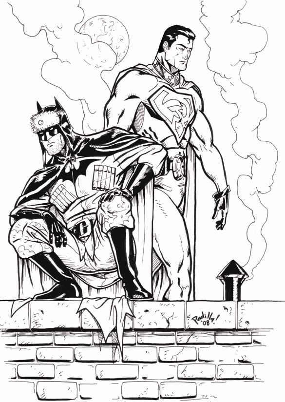 dc_comics_superhero_superman_and_batman_coloring_pages