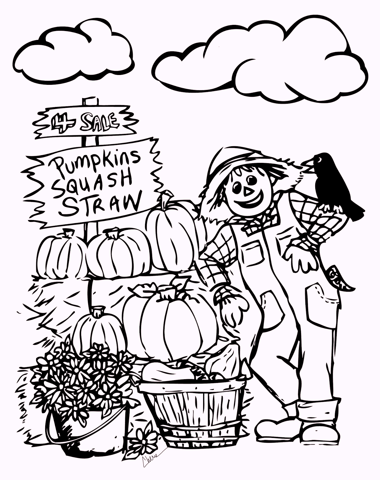 fall-scarecrow-coloring-pages-harvest-time