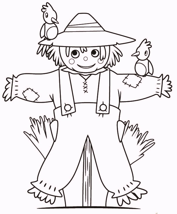 funny-fall-scarecrow-coloring-pages