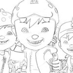 Printable Boboiboy Coloring Pages For Kids 150x150