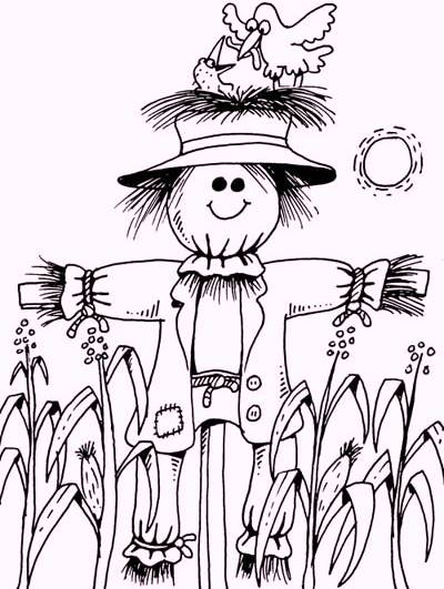 scarecrow-coloring-book
