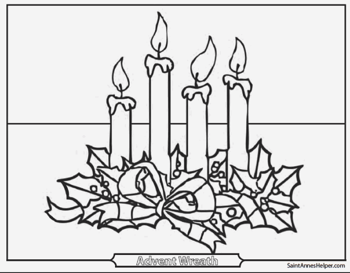 advent coloring pages crafts - photo#37
