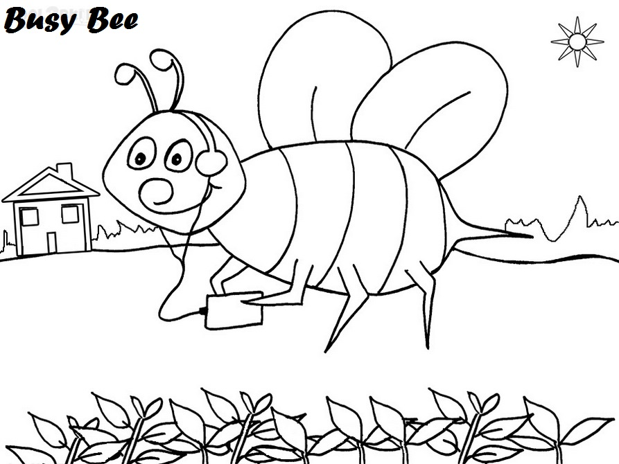 Busy-Bee-Coloring-Page-for-kids