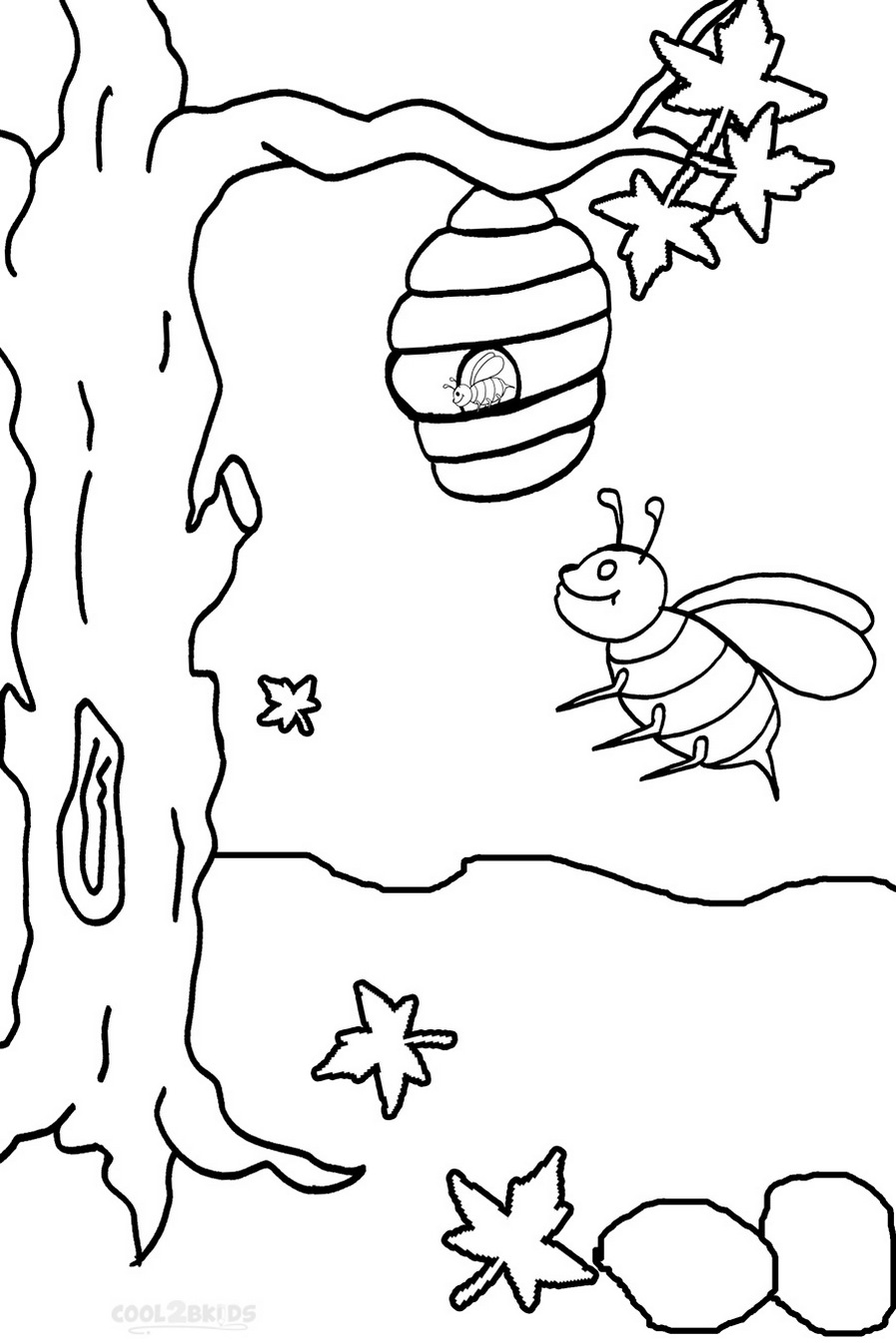 Busy-Bee-Print-out-drawing