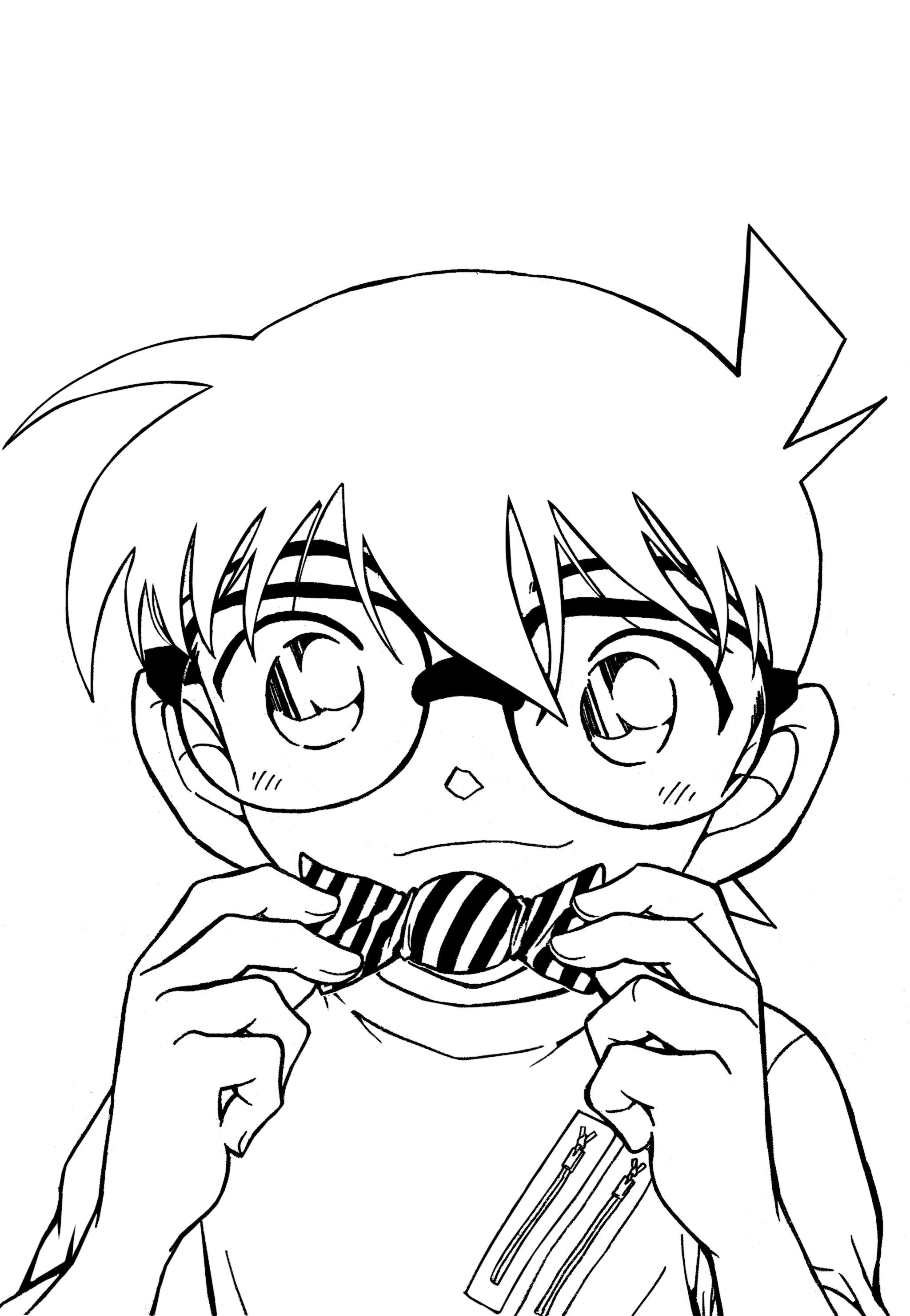 Conan-coloring-book