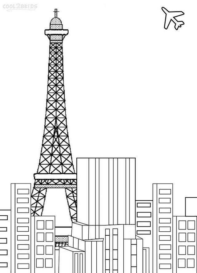 Eiffel-Tower-Coloring-Pages-Online
