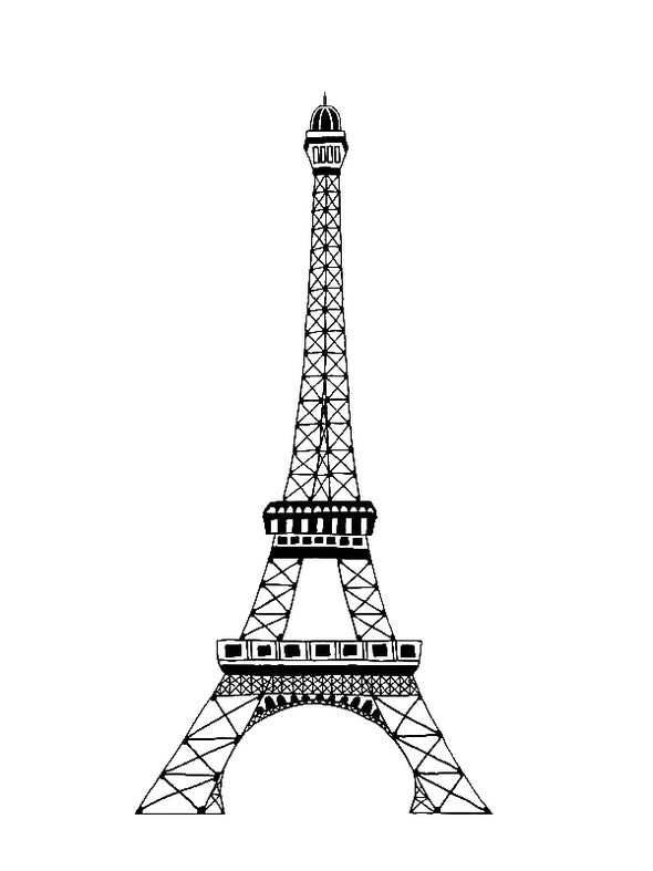 Eiffel-tower-coloring-page-to-print