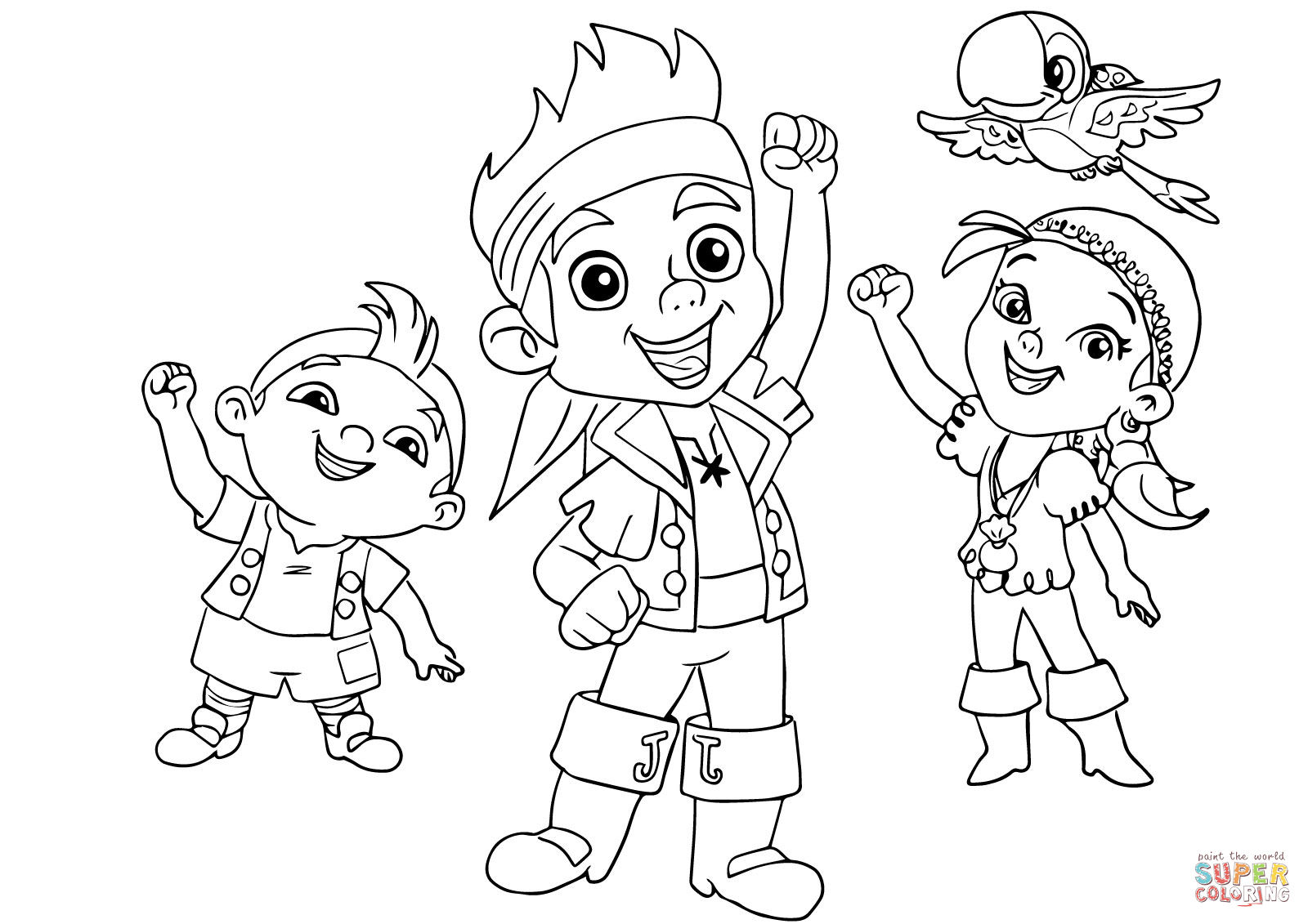 Jake-and-the-neverland-pirates-colouring-page-printable