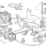 Lego-Duplo-Airport-Coloring-Books
