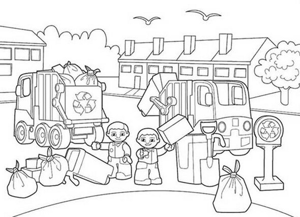 Lego-Duplo-Garbage-Service-Coloring-Pages-to-teach-kids-the-importance-of-cleaning