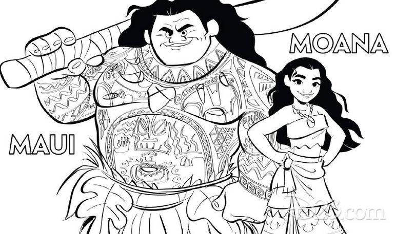Moana-and-Maui-coloring-page