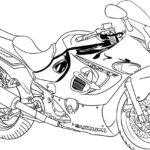 Motorcycle Suzuki Printable Coloring Books