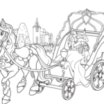 barbie-and-golden-horse-chariot-coloring-pages-for-girls