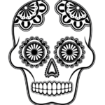 calavera-mask-coloring-picture
