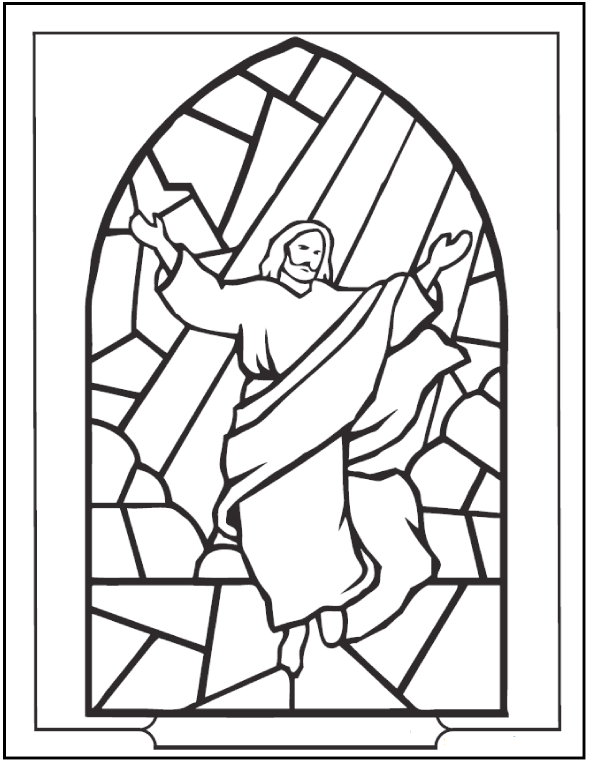 christmas-stained-glass-jesus-coloring-page