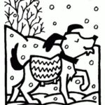 dog-winter-animal-coloring-pages