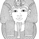 egypt-king-queen-coloring-sheet