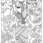 egypt-queen-coloring-page