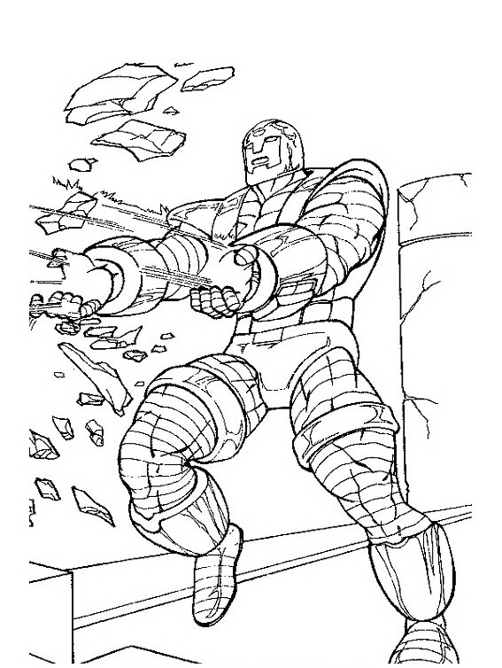 fighting-iron-man-coloring-page