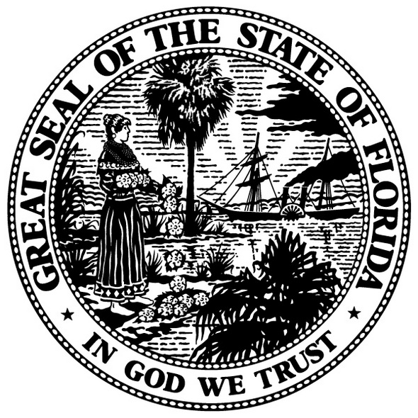 florida-state-symbols-print-out-drawing