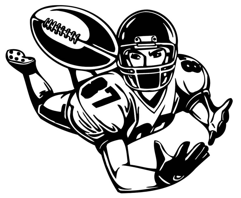 football-coloring-picture